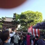 西圀五番札所藤井寺の「春季大法要餅撒き」に行ってきました(2015年)