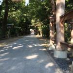 藤井寺の辛圀神社にお宮参りに行ってきました
