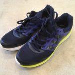 視覚障害者マラソン練習会用のランニングシューズを購入
