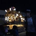 2015年 藤井寺市西地区だんじり祭り